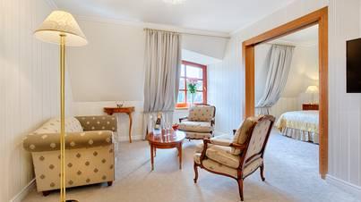 Люксовые апартаменты Вид на Прагу