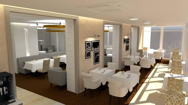 Reconstruction du restaurant