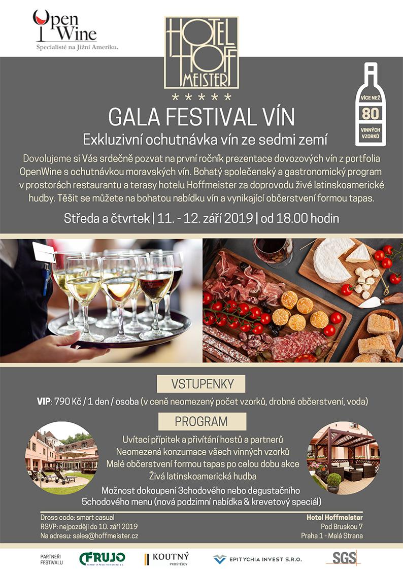 Gala festival vín